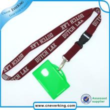 Colhedor de cartão de identificação de pescoço de fábrica