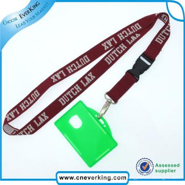 Factory Neck ID Card Holder Lanyard