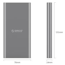 ORICO T1 Type-C 10000mAh Power Bank может напрямую заряжать устройство Type-C