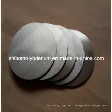 Полированный круг Молибденовый круги (99.95% чисто)