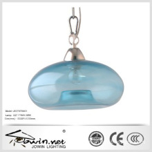Hot Sale Blue Color Glass Lamp In Zhongshan