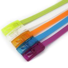 Bunte Kunststoff-Gürtel Silikon-Kunststoff-Gürtel