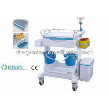 Trole médico do carrinho do tratamento do transporte do molho DW-FC005 for sale