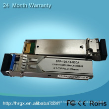 China supplier single mode sfp 1550nm 120km
