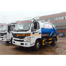 6CBM Fashionable design Sewage Suction Truck