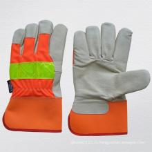 Hi-Vis свиная зерновая кожа Thinsulate Lining Зимняя перчатка (3521)