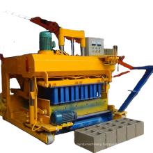 qmj-6a concrete block making machine movable brick making machine