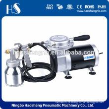 AS09K-1 kit de pulverização portátil compressor de ar