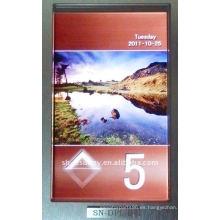 SN-visor ascensor pantalla BCD código PCB COP. LOP