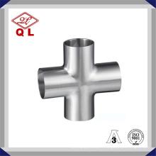 304 / 316L Croissance soudée sanitaire en acier inoxydable à haute qualité