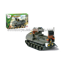 Building Blocks Military Tank Toy