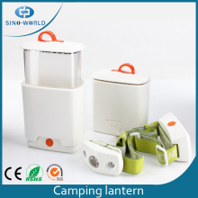 Retractable Led Camping Light With A Headlamp