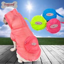 Vêtements de peau chien imperméable Pet camo jacket vêtements Vêtements