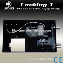 Useful electronic lock with automatically motorized locking system for hotel safe locker