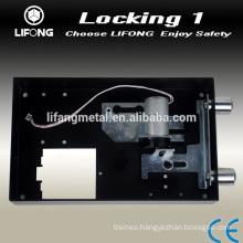 Useful electronic lock with automatically motorized locking system for hotel safe locker