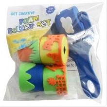 accessoires faits à la main de bricolage, stamper de rouleau, stampers colorés d'EVA