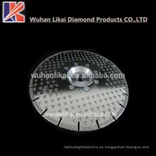 """7 """"9"""" 180 230 mm corte electrochapado / muela hoja de sierra de diamante de mármol"""