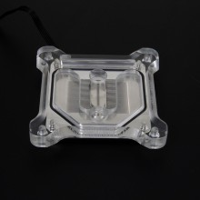 rgb light cpu acrylic cover rame cpu block