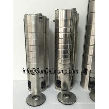 (4SPM2/7-0. 37KW) 4 pulgadas impulsor acero inoxidable sumergible profundo de agua de pozo bomba con Ce