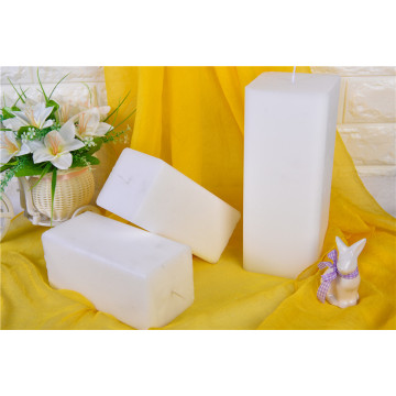 White Paraffin Wax Square Candle