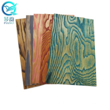 Embossed Plywood For Decoration , Brush Embossed Larch Plywood