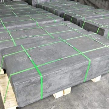 Bloco isostático de grafite de alta qualidade e briquete de grafite moldado