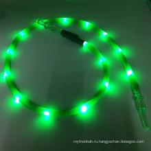 Новый 1.8 m зеленый светодиодный фонарик силиконовые шиша кальян шланг (ЭС-НН-015-1)