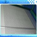 Engranzamento de fio quadrado frisado usado na construção