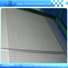 Gekräuseltes quadratisches Maschendraht benutzt in der Kohle