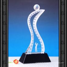 K9 Crystal Glass Trophy Craft for Golf Sport