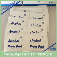 medical sterile non woven alcohol prep pad with factory