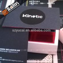 Hot sale custom offset printing luxury raised printing business cards