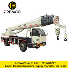 16 Ton Load Home-made Tyre Truck Crane