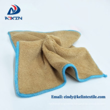 Best selling products 30x50cm 330gsm car detailing coral fleece microfiber