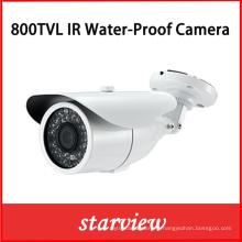 800tvl Caméras de vidéosurveillance imperméables IR Fournisseurs Caméra de sécurité Bullet (W23)