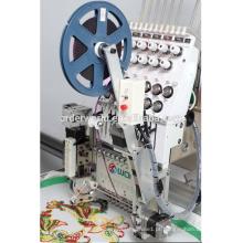 Única máquina de bordar automática computadorizada pequena das cabeças com preços
