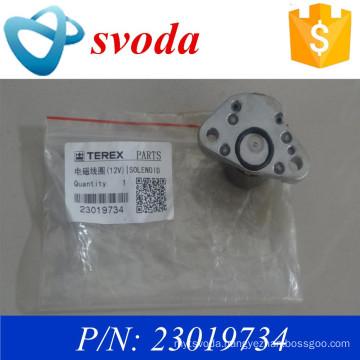 terex parts pn 23019734 12v magnetic/ solenoid coil