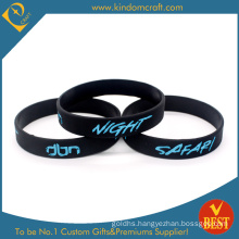 Custom Branded Logo Silicone Rubber Wrist Band Debossed Fashion RFID Mosquito Repellent Smart Silicon USB Sport Bracelet