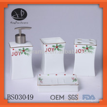 porcelain bath gift sets wholesale,bathroom set