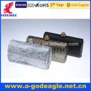 boa constrictor skin with korea crystals on button_G20233-057 new design party bag