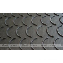 Cleats and Top Cover Rubber Vulcanized Integrally Chevron Conveyor Belt