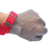 Guante de acero inoxidable / guantes resistentes al corte de acero inoxidable