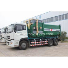 13.4ton Garbage Refuse Collection Vehicles 6x4 Truck With D