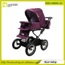 China Hersteller Neues Produkt Deluxe Kinderwagen für Baby Verstellbarer Griff Hight Baby Car mit Fußabdeckung