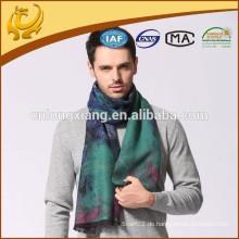 China-Fabrik-Art 100% reiner Silk Großhandelsmänner eigener Entwurfs-Silk Schal