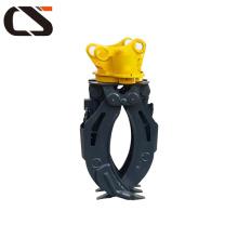 Grappin hydraulique rotatif de grappin de marque hyundai