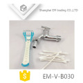EM-V-B030 Chrome Plated high quality Zinc Alloy bibcock for garden