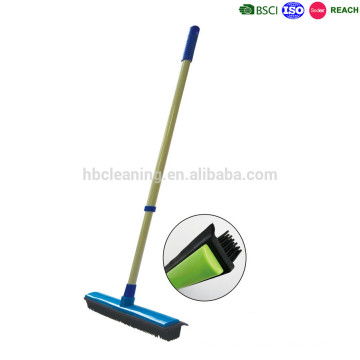 escoba de goma sweepa, escoba de piso con escobilla de goma