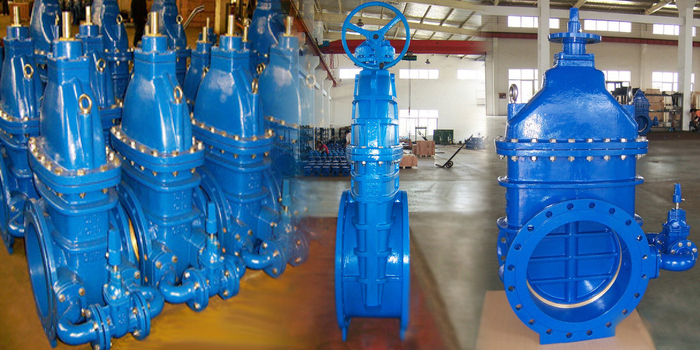large diameter gate valve photos