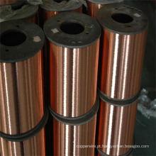 Fio de aço revestido de cobre ASTM CCS padrão para capa de corda de piano